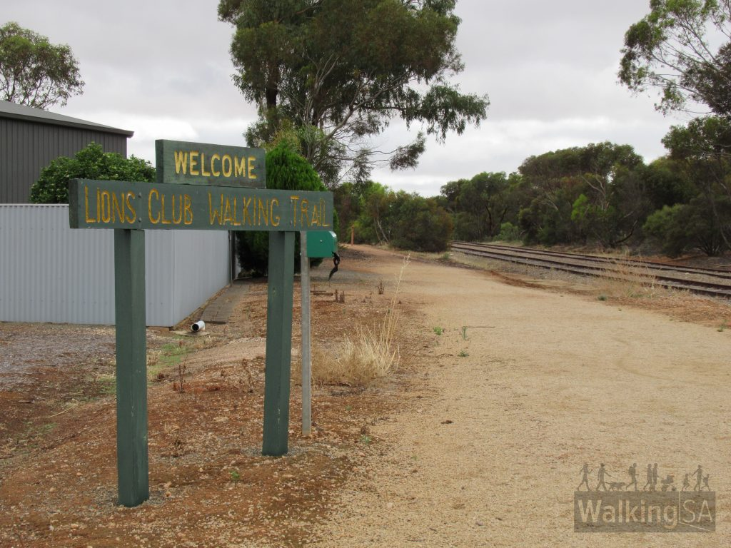 Lions Walking Trail, on War Memorial Drive, Balaklava
