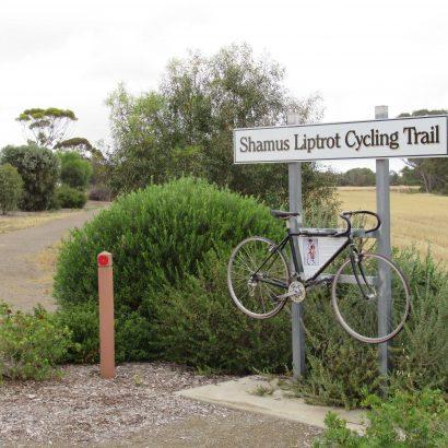 Shamus Liptrot Cycling Trail, Balaklava to Halbury