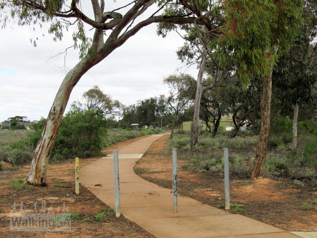 The Education and Cultural walk is a shared trail loop