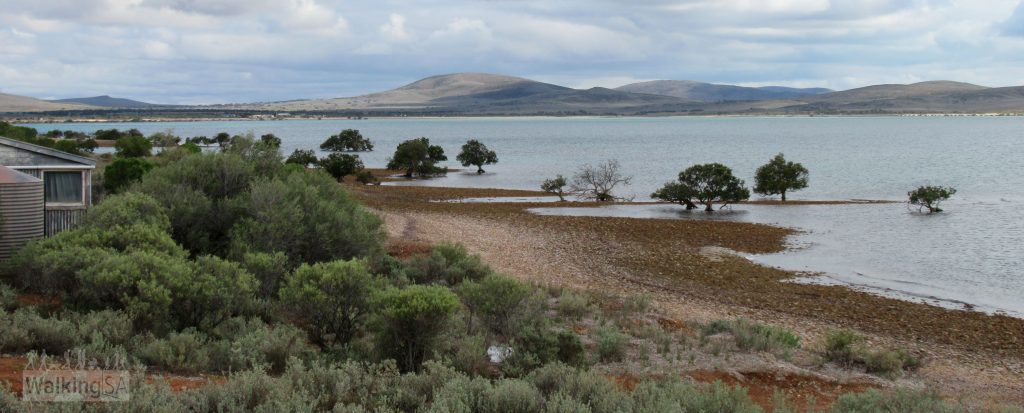 Views over the Spencer Gulf from the Freycinet Trail