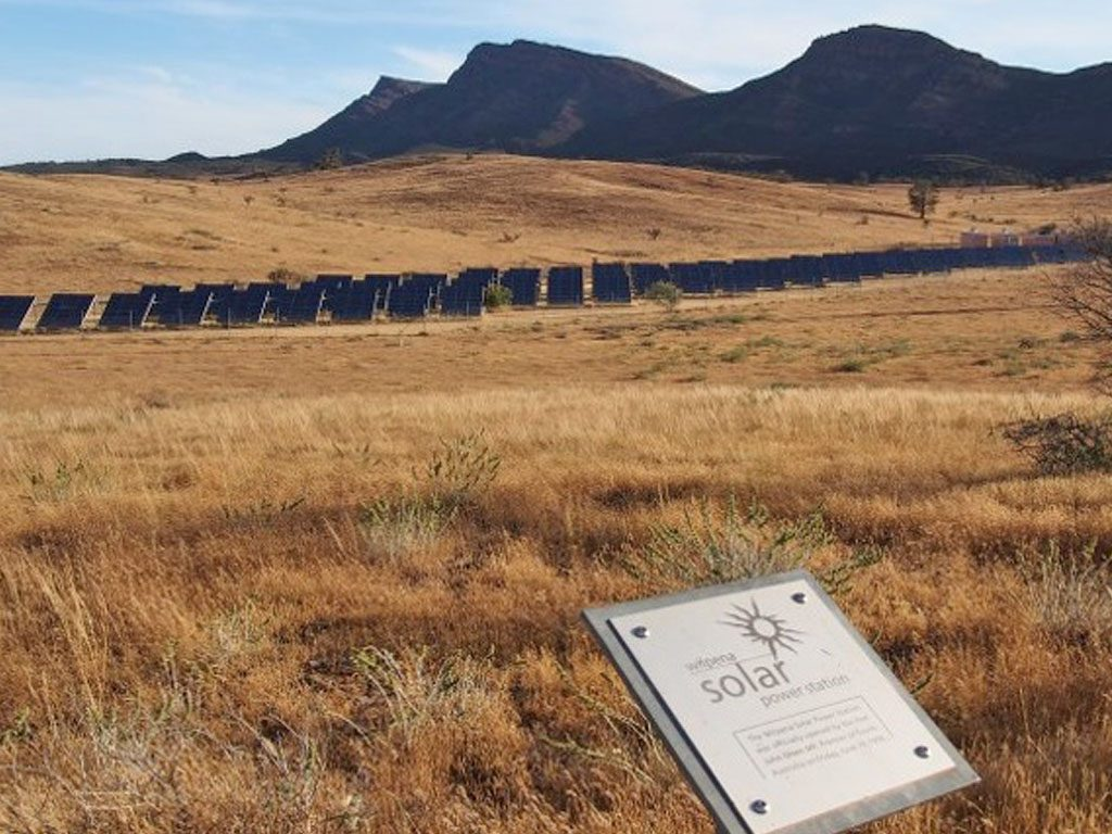 Wilpena Solar Power Station Walk