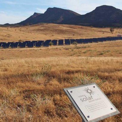 Wilpena Solar Power Station Walk