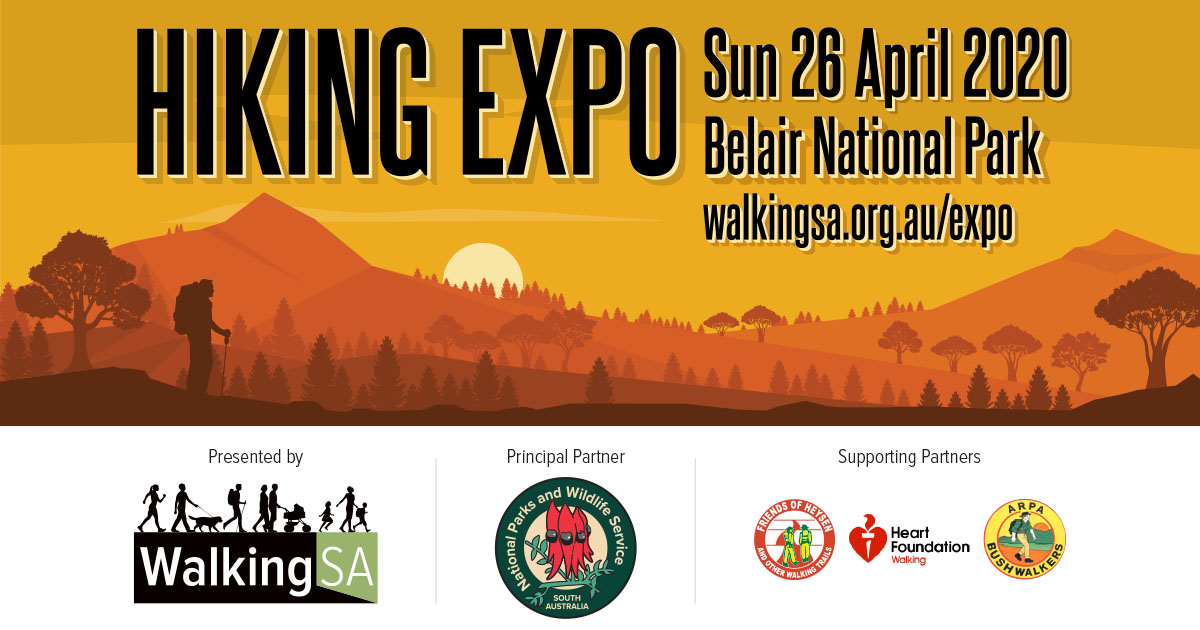 Hiking Expo, Sunday 26 April 2020, Belair National Park