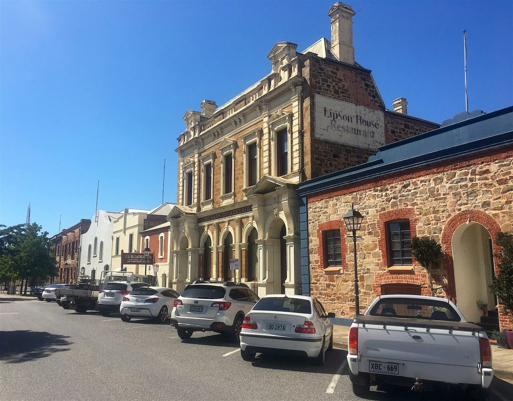 The historic buildings of Port Adelaide: Lipson House, The Bank of Adelaide, Lipson St