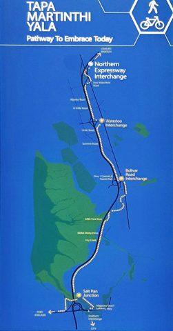 Map of Tapa Martinthi Yala Shared Use Path (Northern Connector) trail