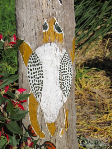 Keep an eye out for some of the art along Paringa Parade