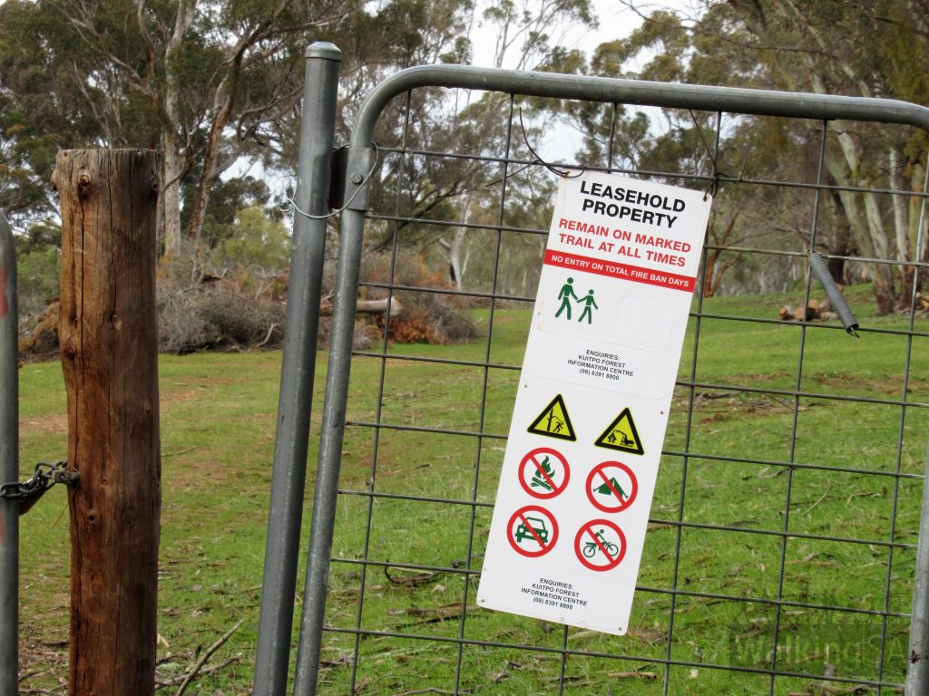 Much of the Bundaleer Forest is now privately leased. The marked trails follow greenways, so you can use the marked trails, but you must stick to the trail.