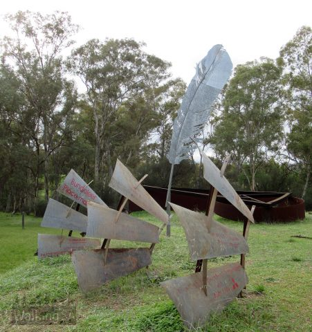 The Placemarker sculpture
