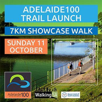 Adelaide100 Trail Launch, 7km showcase walk
