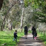 Walking in Belair National Park