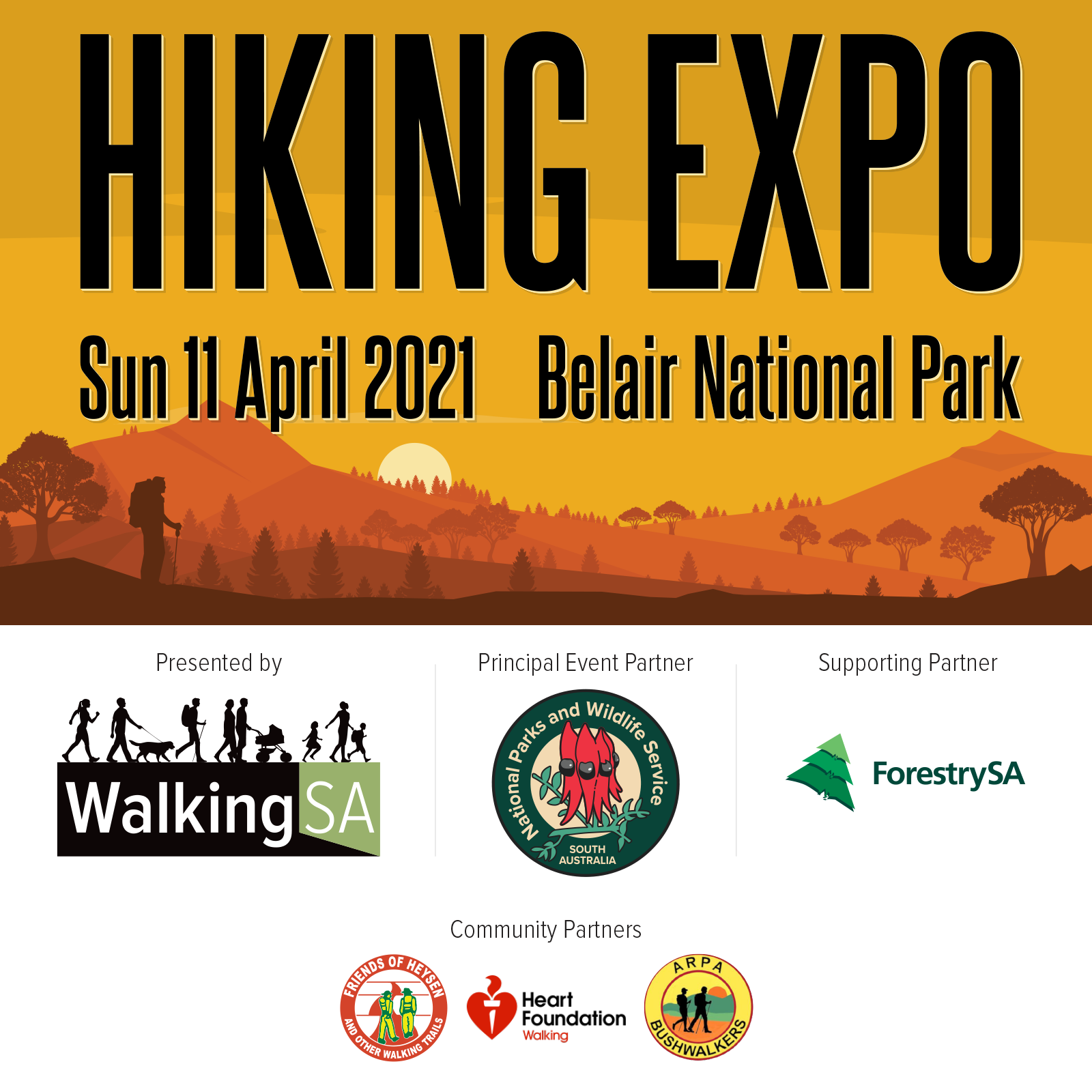 Hiking Expo, Sunday 11th April 2021