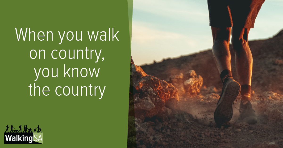 social media tile Rectangle 1200px x 630px: When you walk on country, you know the country